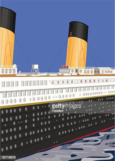 Ilustraciones De Stock Y Dibujos De Titanic