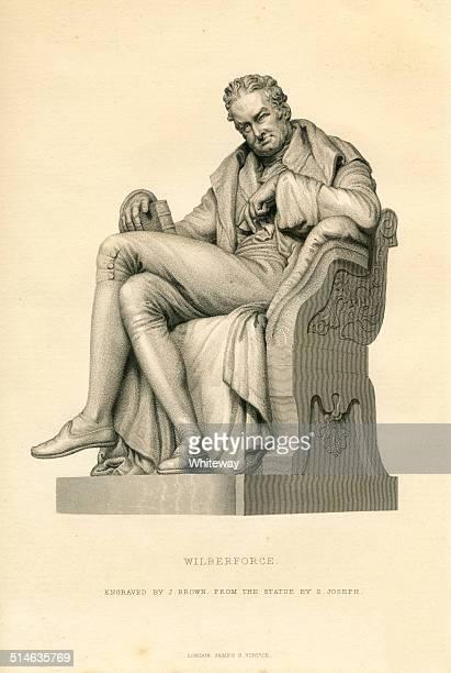 ウィリアムウィルバーフォース 19 世紀の彫りこみ文字 - ウィリアム ウィルバーフォース点のイラスト素材/クリップアート素材/マンガ素材/アイコン素材