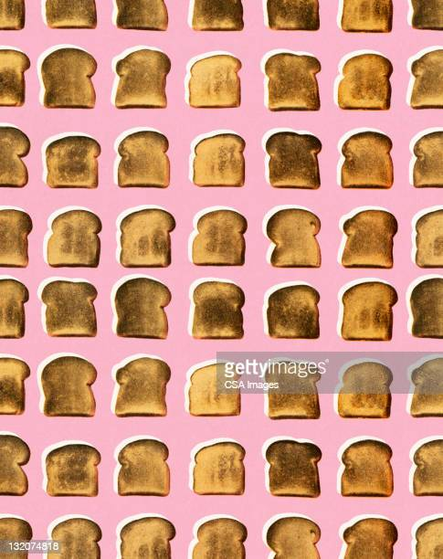 toast pattern - toast bread stock illustrations, clip art, cartoons, & icons