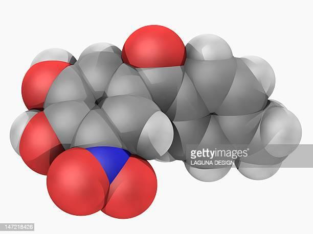 Tolcapone drug molecule