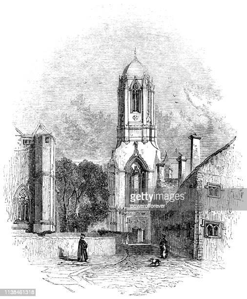 Tom Tower at Christ Church in Oxford, England - 17th Century