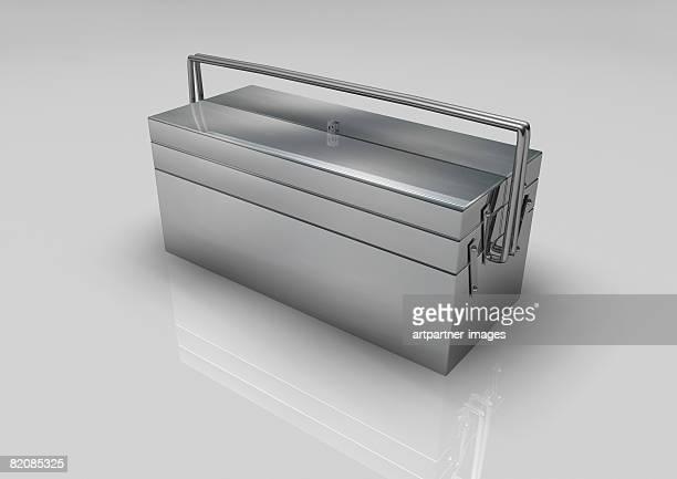 ilustraciones, imágenes clip art, dibujos animados e iconos de stock de a toolbox - caja de herramientas