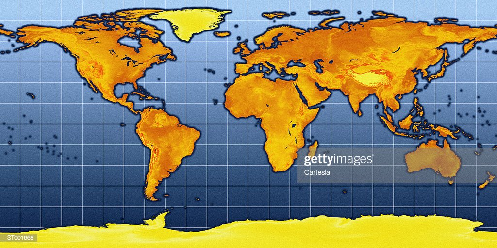 Topographic map flat projection stock illustration getty images topographic map flat projection stock illustration gumiabroncs Image collections