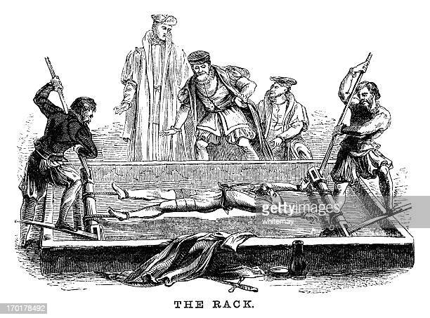 Torture on the Rack (Victorian woodcut)