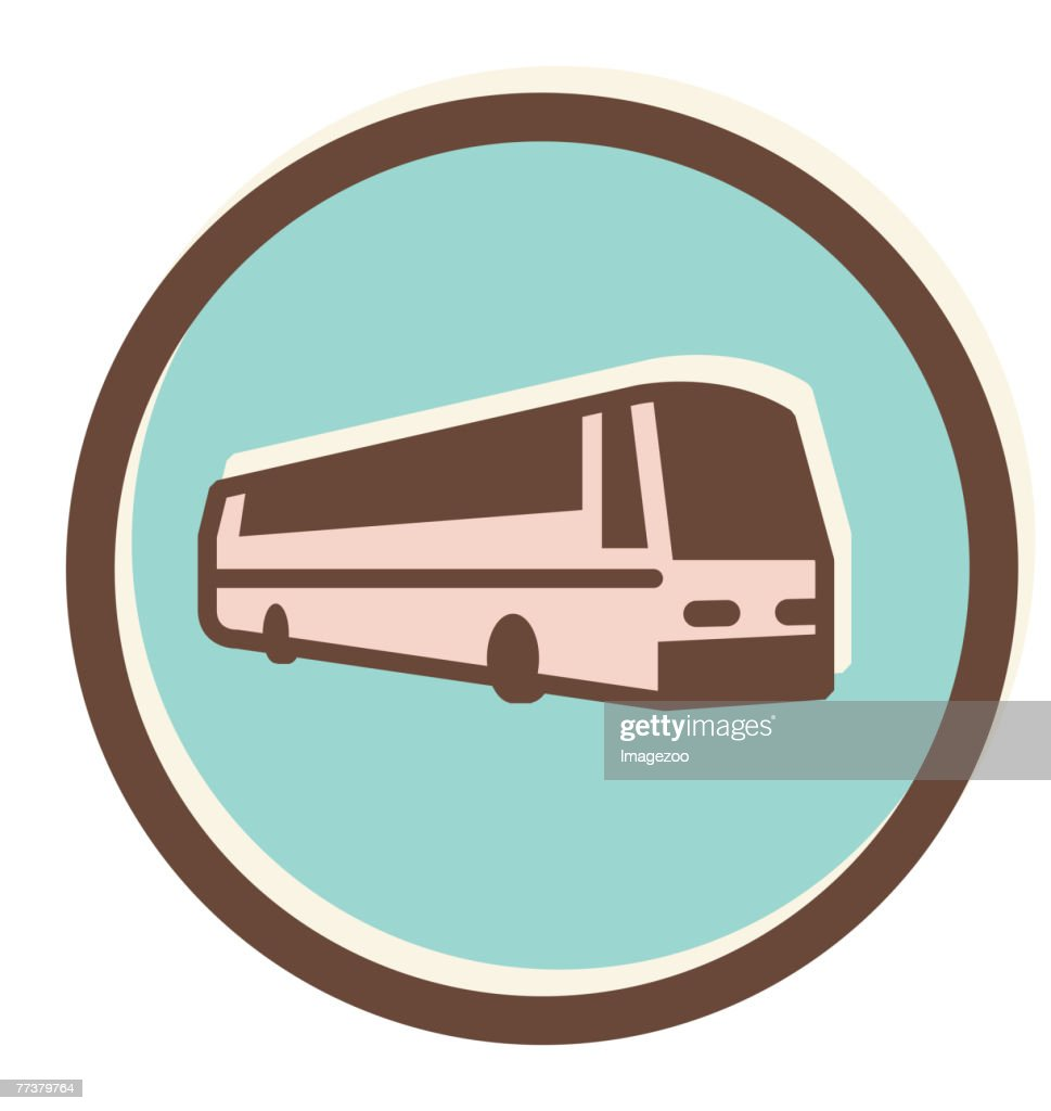 tour bus : stock illustration