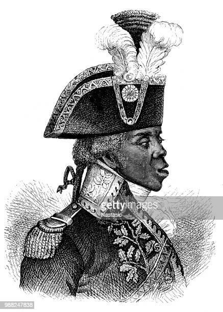 toussaint louverture stock illustrations and cartoons