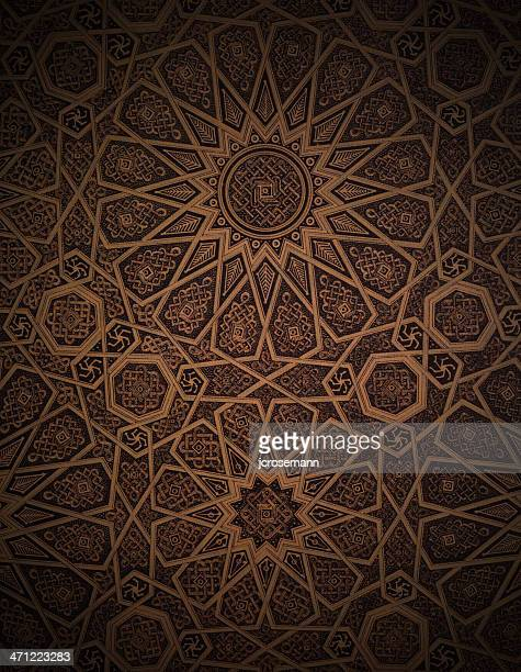 Traditional Arabesque Background