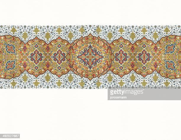 illustrazioni stock, clip art, cartoni animati e icone di tendenza di quadro indo-persiano tradizionale - etnia indo asiatica