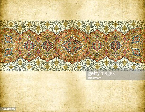 traditional indo-persian framework - iranian culture stock illustrations, clip art, cartoons, & icons