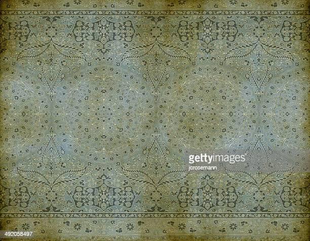 illustrazioni stock, clip art, cartoni animati e icone di tendenza di tradizionale indo-persiano vecchia carta da parati - etnia indo asiatica