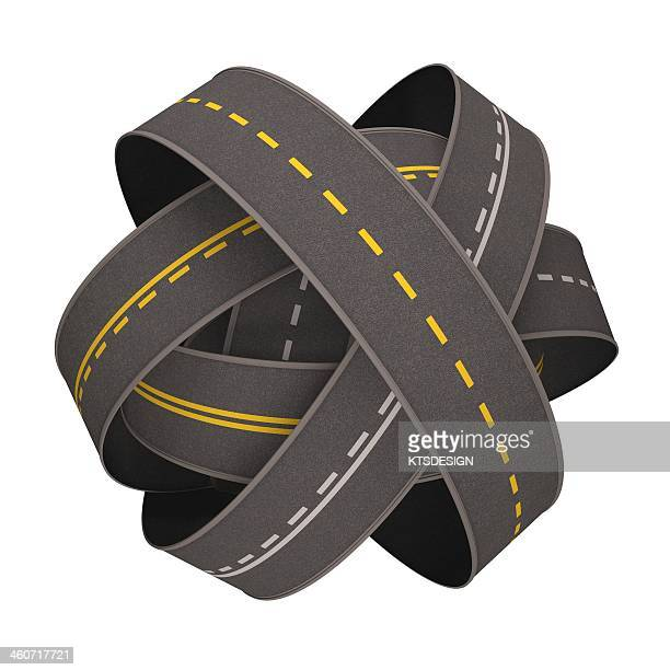 traffic jam, conceptual artwork - road stock illustrations