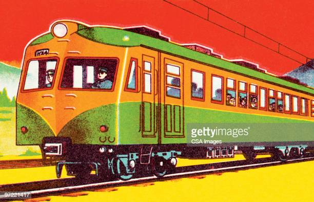 train - transportation stock illustrations