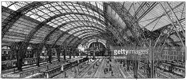 Train station in Frankfurt (Germany)