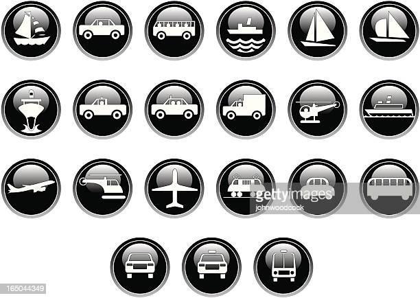 Transport icons (shiny)
