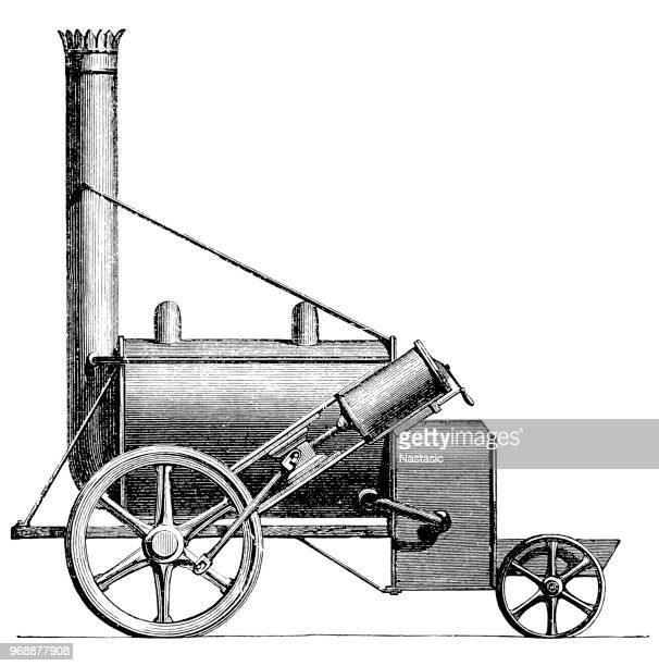 Trevithick and his partner, his cousin Andrew Vivian, patented a steam coach