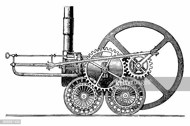 Trevithick's locomotive