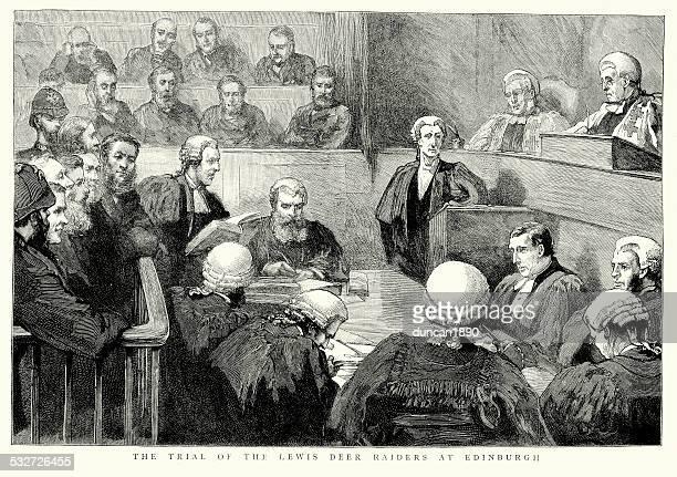Trial of the Lewis deer raiders