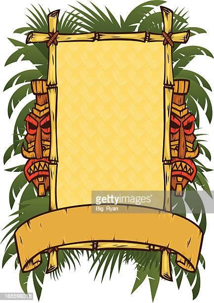 tribal time - hawaiian ethnicity stock illustrations, clip art, cartoons, & icons