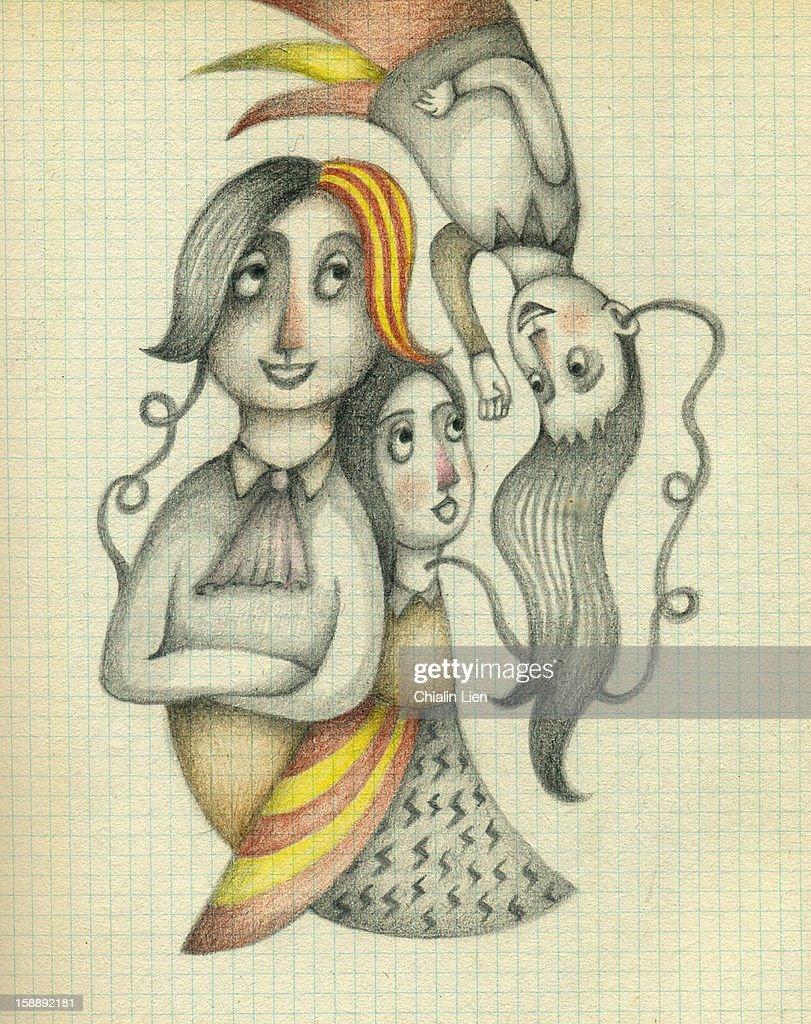 Tri-way Communication : Illustrationer