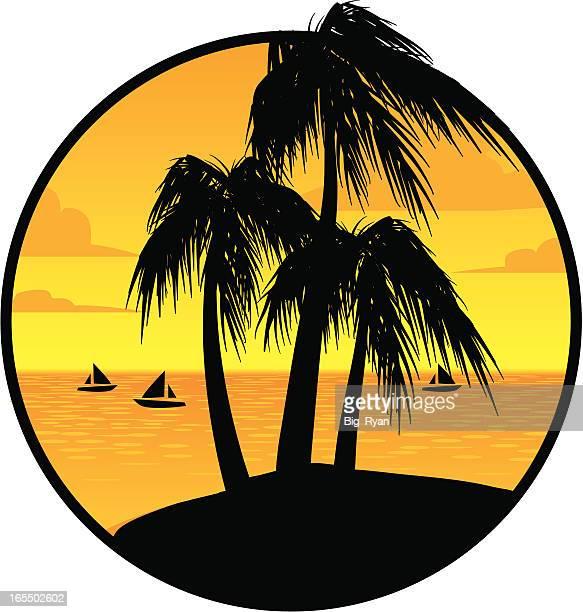 tropical vacation - jamaica stock illustrations, clip art, cartoons, & icons