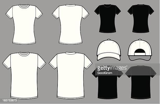 t シャツ - ショートヘア点のイラスト素材/クリップアート素材/マンガ素材/アイコン素材