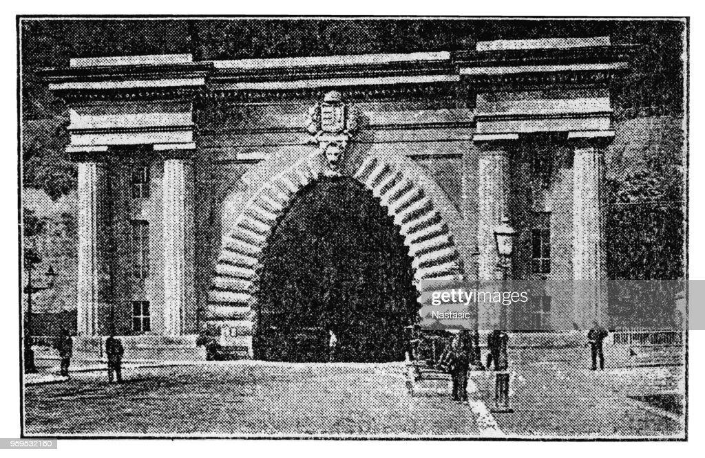 Tunnel, die Kettenbrücke, 1931 : Stock-Illustration