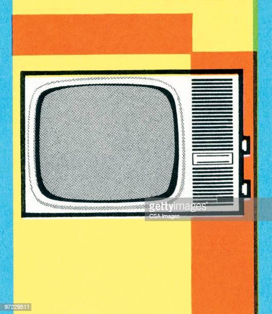 tv - 1990 1999 stock illustrations