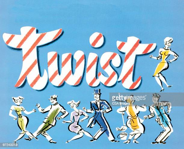twist - twisted stock illustrations, clip art, cartoons, & icons