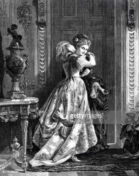 two girl friends embracing each other - 1877 stock illustrations, clip art, cartoons, & icons