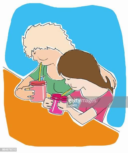Illustrazioni e cartoni animati stock di solo adolescenti