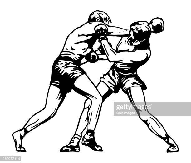 Two Men Boxing