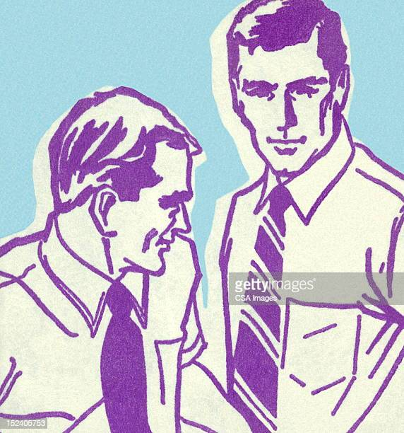 Two Men Wearing Ties