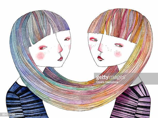 Sister Stock Illustrations And Cartoons Getty Images