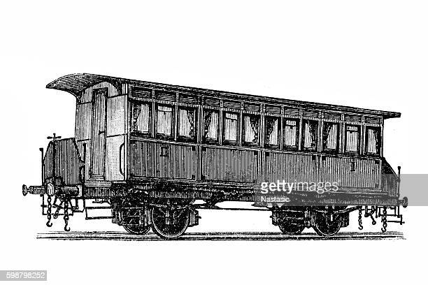 Two-axle passenger cars with interconnections