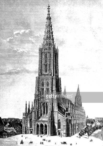Ulm cathedral - highest church tower on earth