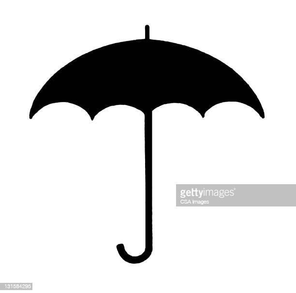 umbrella - rain stock illustrations