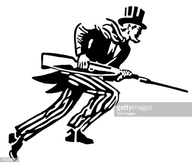 uncle sam - american culture stock illustrations