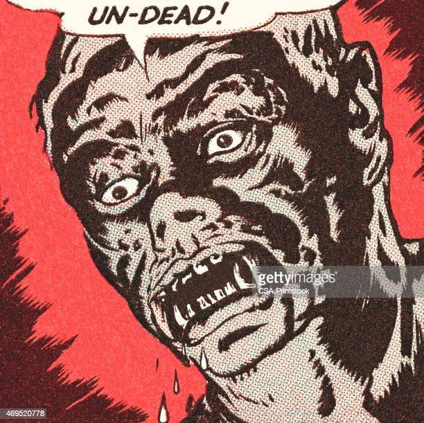 undead - zombie stock illustrations, clip art, cartoons, & icons