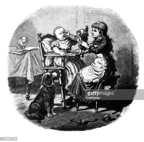 ilustrações, clipart, desenhos animados e ícones de miúdo infeliz - 1887