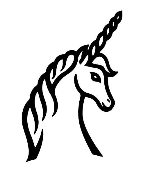 unicorn - unicorn stock illustrations