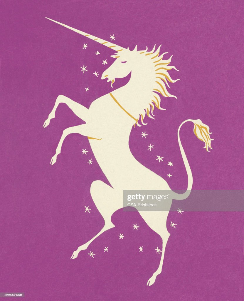 Unicorn : stock illustration