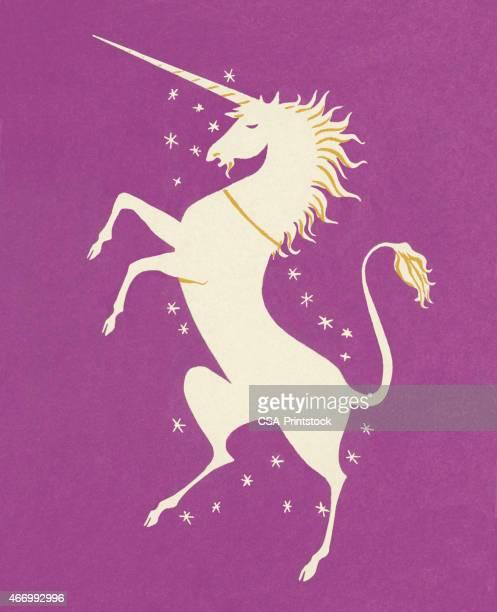 unicorn - unicorn stock illustrations, clip art, cartoons, & icons