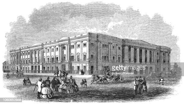 United States General Post Office Building in Washington D.C., USA (1859)