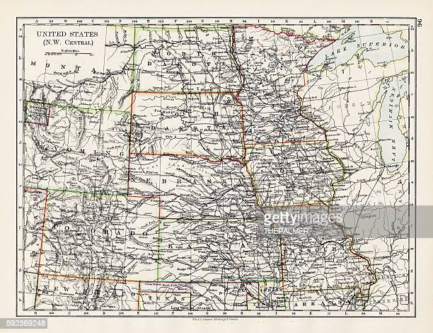 United States NW Central 1897