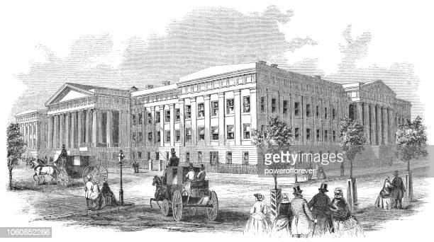 United States Old Patent Office Building in Washington D.C., USA (1859)