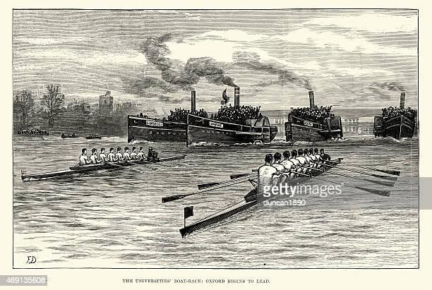 University Boat Race Oxford vs Cambridge 1882
