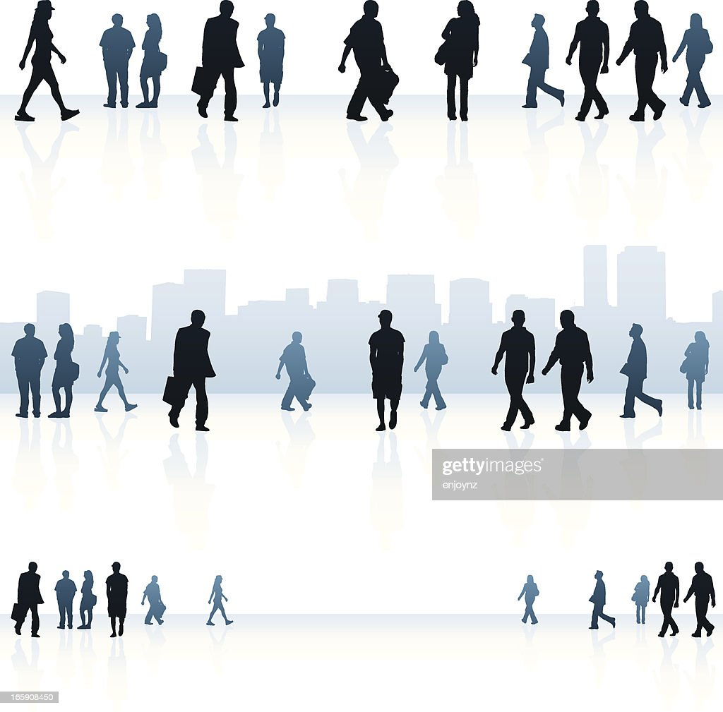 urban people backgrounds vector art getty images