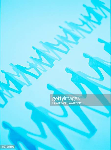 use of human templates in cloning - template stock illustrations
