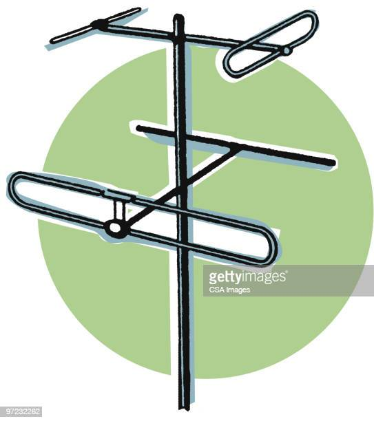 utility pole - receiving stock illustrations