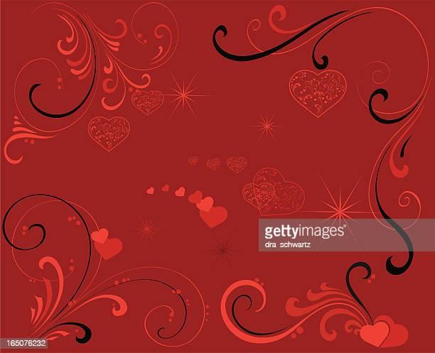 valentine background - valentine' day stock illustrations